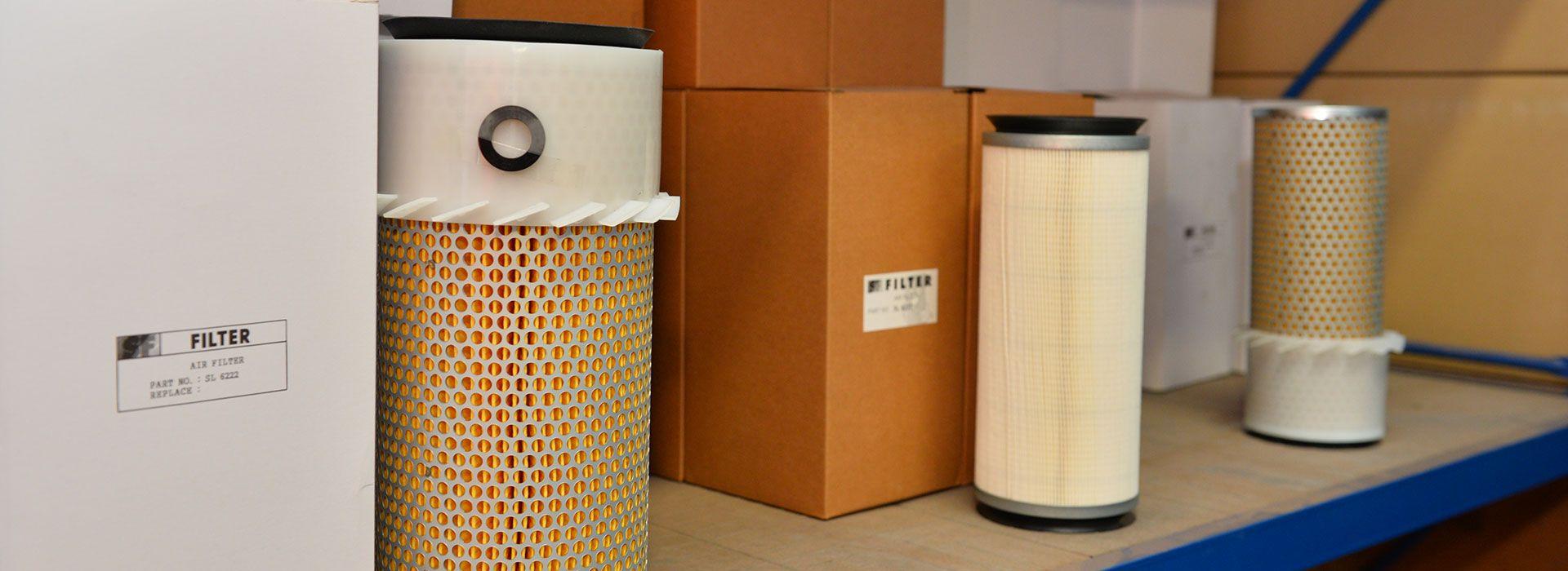 Scopri tutti i nostri filtri per miniescavatori e trattorini in stock